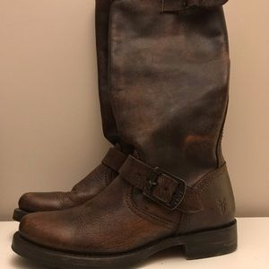 FRYE Veronica slouch tall boots size 6